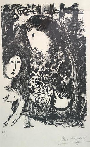 Marc Chagall - Le Silence