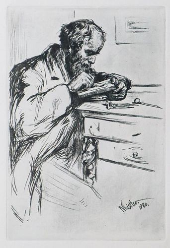 James McNeill Whistler (After) - Riault The Engraver