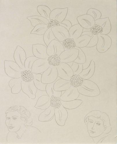 Henri Matisse - Les Fleurs avec Remarques