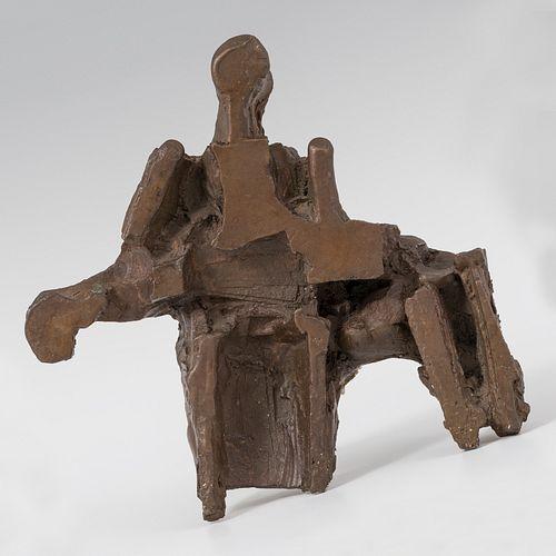 "JORGE OTEIZA ENBIL (Orio, Guipúzcoa, 1908 - San Sebastián, 2003). ""Pietà No. 10 for Arantzazu"", 1987. Bronze with different patinas. Exemplary 1/5. Wo"