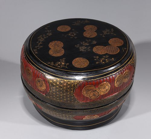 Large Chinese Lacquer Box