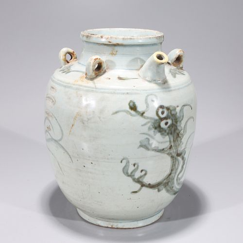 Ming Dynasty Chinese Blue & White Ewer