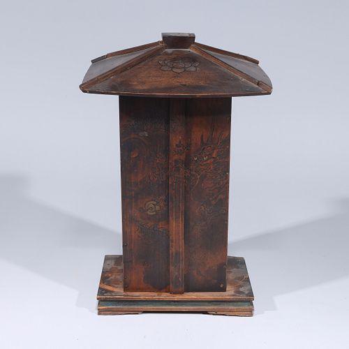 Large & Unusual Japanese Edo Period Zushi