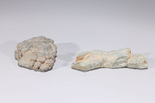 Two Antique Indian Stone Carvings