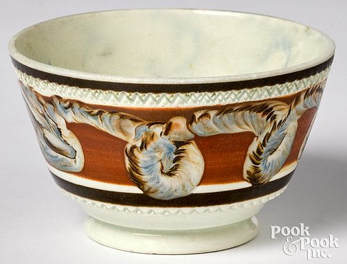 Mocha tea bowl
