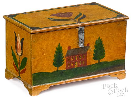 Lancaster, Pennsylvania painted Weber dressing box