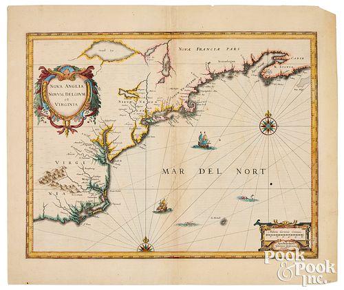 Joannes Janssonius map