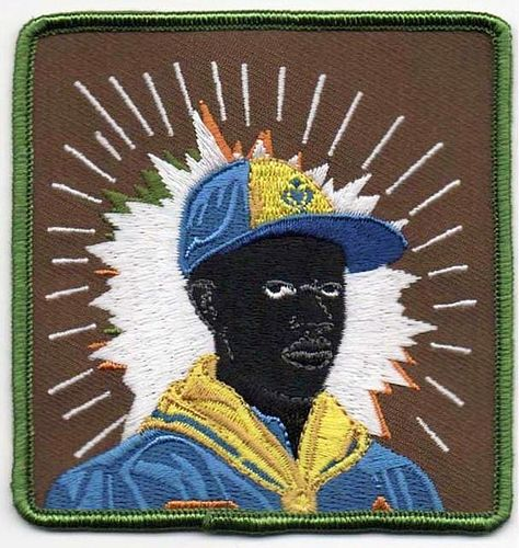 """Kerry James Marshall """"Cub-Scout"""" Rare patch"""