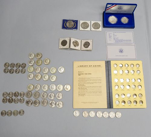 Group of American Collectible Coins
