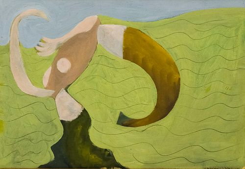 """David Smith """"Untitled (Abstract Form)"""""""