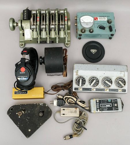 Large Group of Vintage Film Editing Equipment