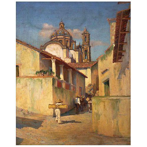"GUILLERMO GÓMEZ MAYORGA, Sin título, Firmado, Óleo sobre tela, 50 x 40 cm | GUILLERMO GÓMEZ MAYORGA, Untitled, Signed, Oil on canvas, 19.6 x 15.7"" (50"