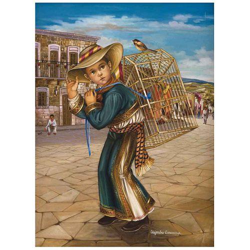 "ALEJANDRO CAMARENA, Sin título, Firmado, Óleo sobre tela, 79 x 60 cm | ALEJANDRO CAMARENA, Untitled, Signed, Oil on canvas, 31.1 x 23.6"" (79 x 60 cm)"