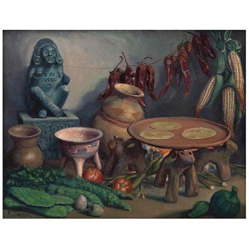 "ALFONSO TIRADO, Sin título, Firmado, Óleo sobre tela, 70 x 90 cm | ALFONSO TIRADO, Untitled, Signed, Oil on canvas, 27.5 x 35.4"" (70 x 90 cm)"