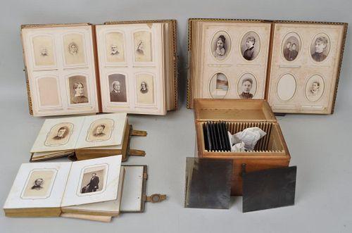 Estate Group Antique Photos, Albums