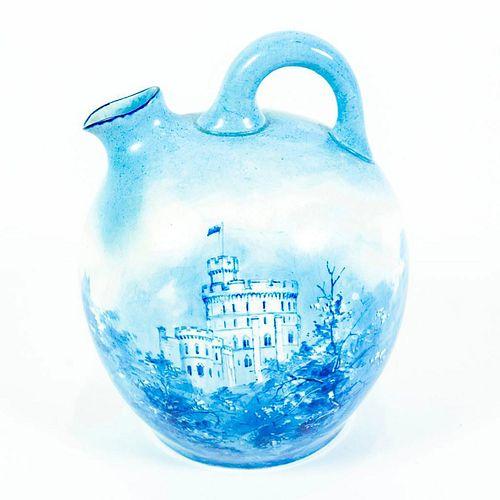 Doulton Burslem Ceramic Flask, Windsor Castle