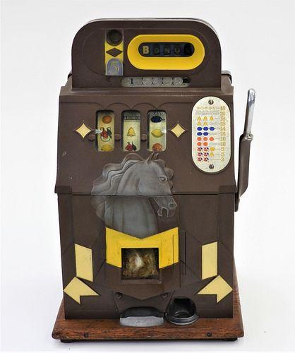 Mills 5 Cent Horse Head Slot Machine