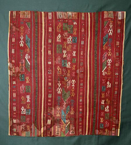 Large and Colorful Inca Textile Tunic