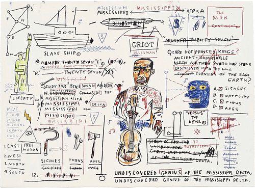 Jean-Michel Basquiat - New Undiscovered Genius