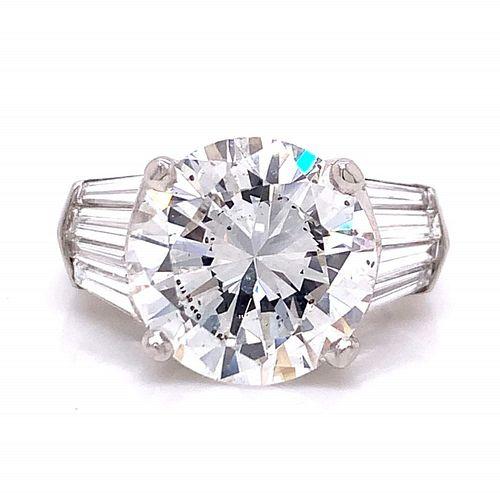 GIA 7.03 Ct. Diamond Engagement Ring