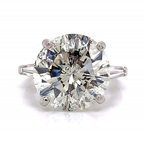12.03 Ct. Diamond Engagement Ring