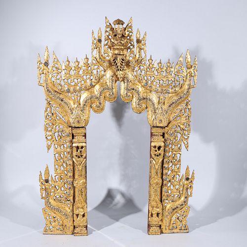Large Antique Thai Architectural Element