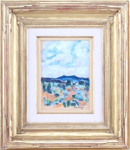 Ernest Martin Hennings (1886-1956) Oil Painting