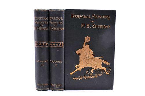 1888 1st Ed. Personal Memoirs of P.H. Sheridan