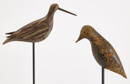 Two Shorebird Decoys