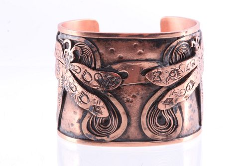 Armand American Horse Copper Dragonfly Bracelet