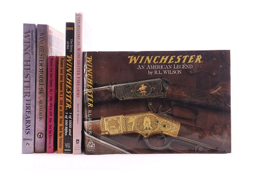 Winchester Firearms Owners Book Collection
