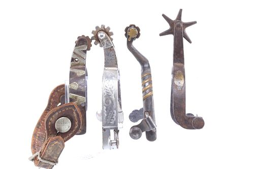 Crocket & Silver Mounted Single Spur Collection