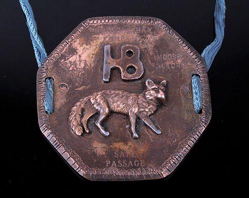 1677 Marked Hudson's Bay Company Medallion