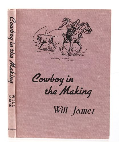 Cowboy In The Making by Will James 1937