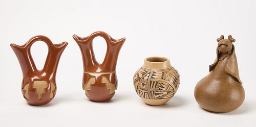 Lot of Contemporary Native Pottery