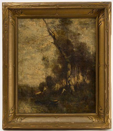 Jean Baptist Camille Corot Landscape Painting