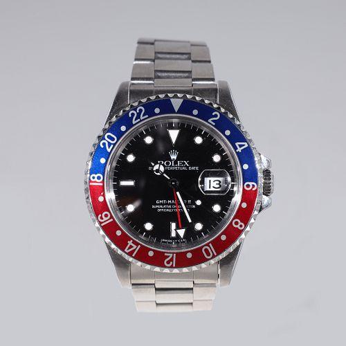 Rolex GMT-Master II Pepsi Ref 16710