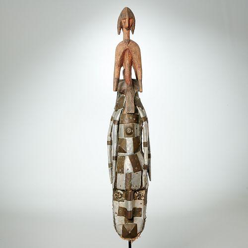 Bambara dance mask, ex-collection Jay C. Leff