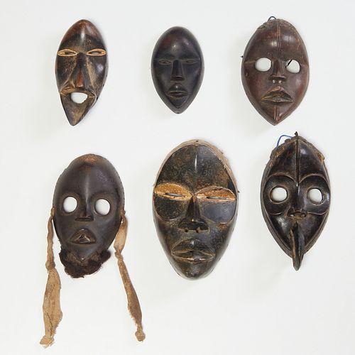 Group (6) Dan style masks