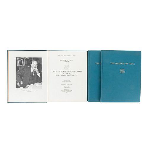 Jones, Christopher - Satterthwaite, Linton / Trik, Helen - Kampen, Michael E. The Monuments and Inscriptions of tikal... Pzs: 3.
