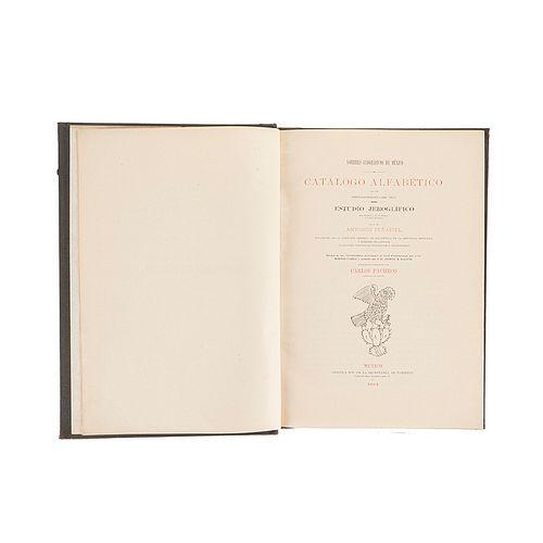 Peñafiel, Antonio. Nombres Geográficos de México. México: Oficina Tip. de la Secretaría de Fomento, 1885.