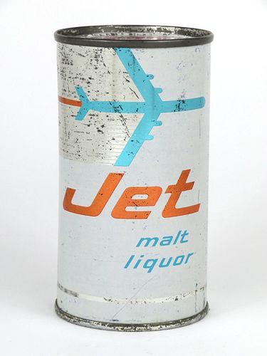 1955 Jet Malt Liquor 12oz Flat Top Can 86-33