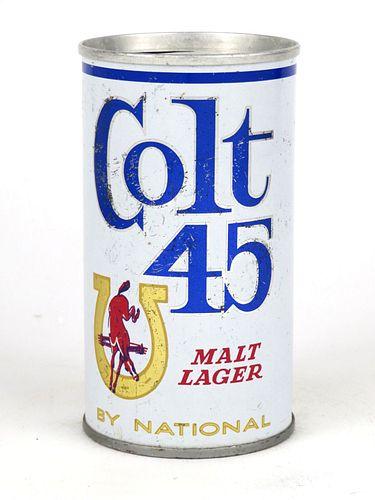 1967 Colt 45 Malt Lager 12oz Tab Top Can T56-11