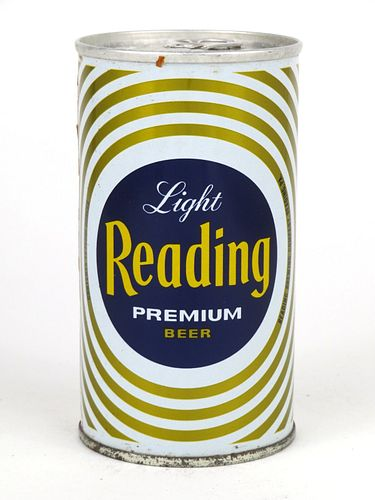 1968 Reading Premium Beer 12oz Tab Top Can T112-28