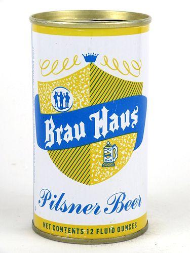 1967 Brau Haus 12oz Tab Top Can T45-08