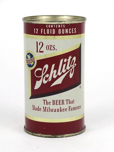 1954 Schlitz Beer (Brooklyn) 12oz Flat Top Can 129-06v