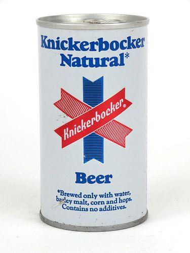 1972 Knickerbocker Natural Beer 12oz Tab Top Can T85-23