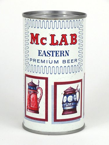 1959 Mc Lab Beer 12oz Flat Top Can 95-02