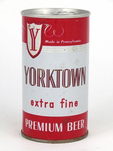 1970 Yorktown Beer  12oz Tab Top Can T135-33