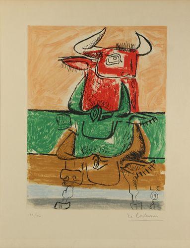 LE CORBUSIER (SWISS, 1887-1965).